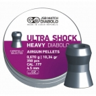 Пули JSB Diabolo Heavy Ultra Shock 4.5 мм (350 шт.) - 0.67 г