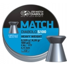 Пули JSB Blue Match Diabolo S 100 4.5 мм (500 шт.)