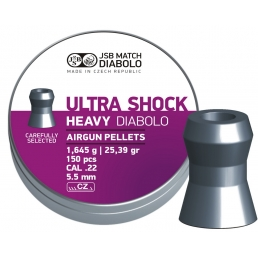 Пули JSB Diabolo Heavy Ultra Shock 5.5 мм (150 шт.)