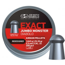 Пули JSB Exact Jumbo Monster Redesigned 5.5 мм (200 шт.)