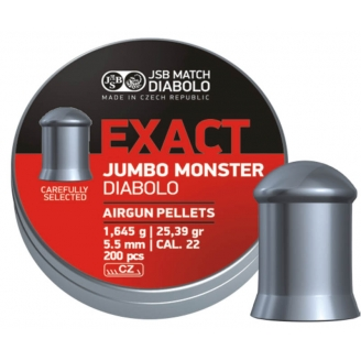 Пули JSB Exact Jumbo Monster 5.5 мм (200 шт.)