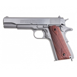 Пневматический пистолет Swiss Arms SA 1911 Seventies Stainless Pistol (Colt 1911)