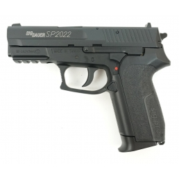 Пневматический пистолет Swiss Arms SIG SP2022 Black, металл