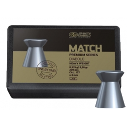 Пули JSB Match Premium Heavy 4,5 мм, 0,535 г (200 шт)