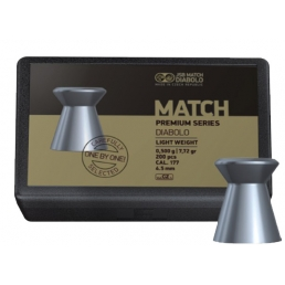 Пули JSB Match Premium Light 4,5 мм, 0,475 г (200 шт)