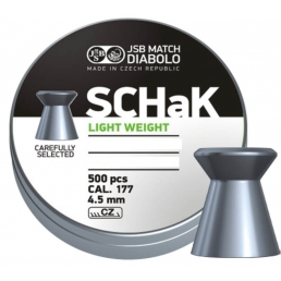 Пули JSB SCHak Light 4,5 мм, 0,475 гр, (500 шт)