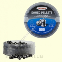 Пули ЛЮМАН Domed Pellets 0.68 гр. (500 шт.)